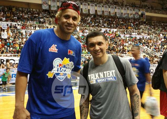 Jimmy Alapag, Asi Taulava can't hide excitement over 'last dance' in PBA All-Star Game