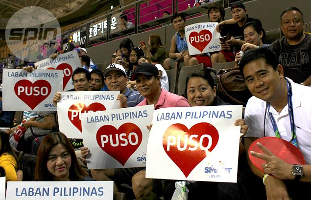 Korea-based Gilas Pilipinas fans skip work to watch Asiad game against India