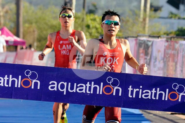 Hong Kong bets complete podium sweep in Asian Triathlon Cup's junior elite race