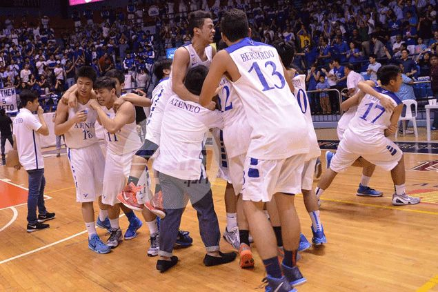 Jolo Mendoza hits 30 points as Ateneo Blue Eaglets rip NU Bullpups for UAAP juniors title