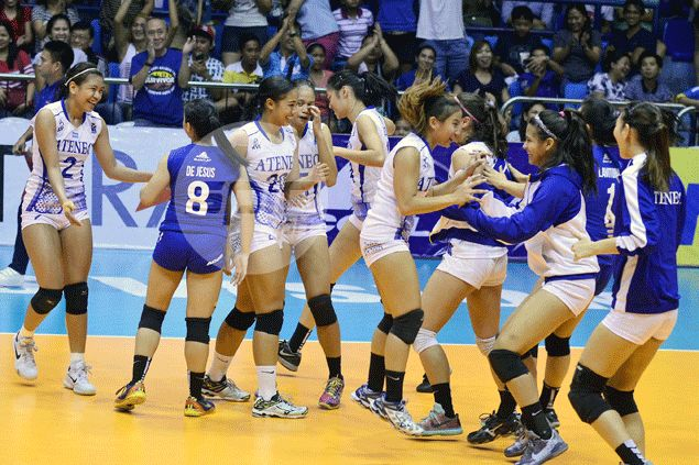 Lady Eagles frustrate Bulldogs to clinch semis top spot in Shakey's V-League