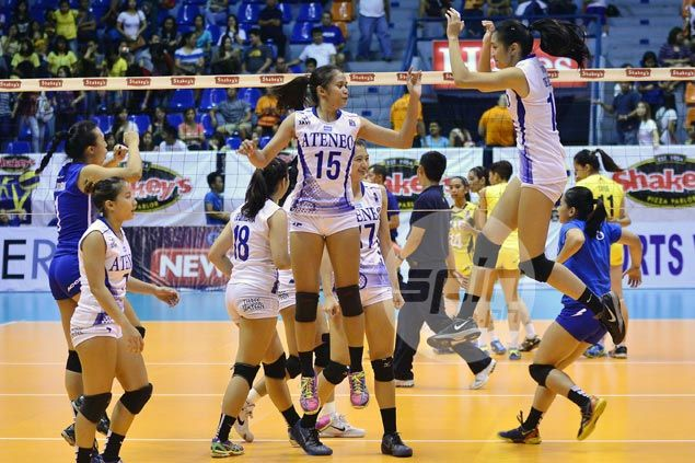 Ateneo Lady Eagles stay perfect in V-League with romp over TIP spikers