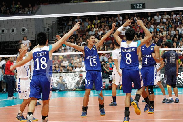 Rivals Ateneo, National University set up showdown for Spikers' Turf championship series
