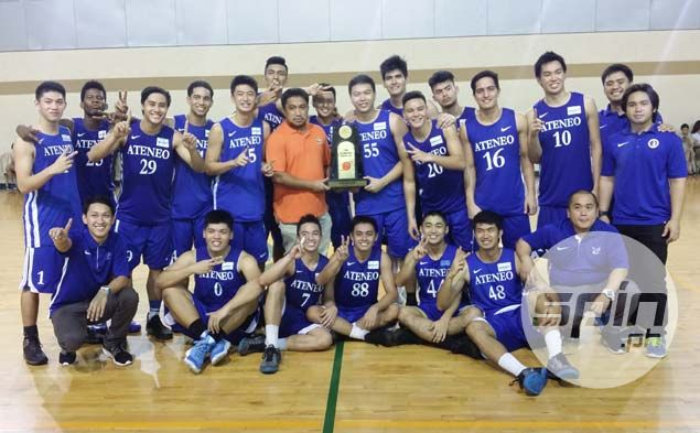 Anton Asistio shows he deserves Ateneo call-up after scoring 45 in Fr. Martin Cup title run