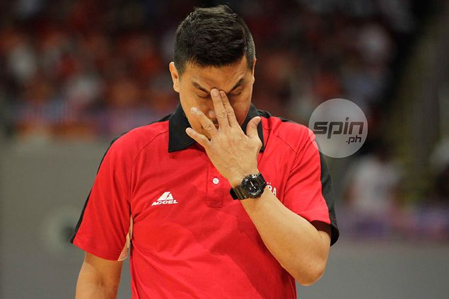 Did Ginebra coach Agustin let his guard down? Or did his guards let him down?
