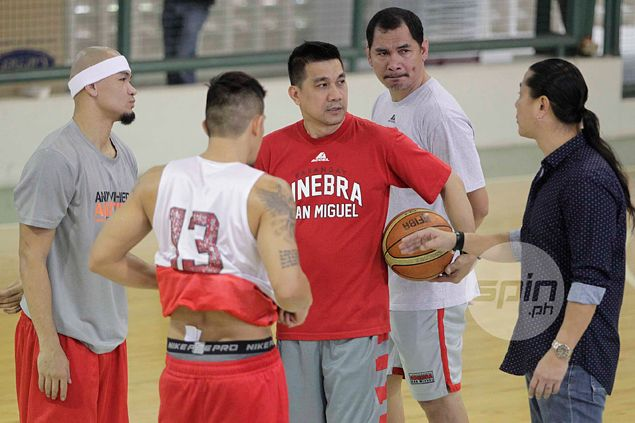 Triangle offense out as new coach Ato Agustin wants Ginebra to run and gun, get physical