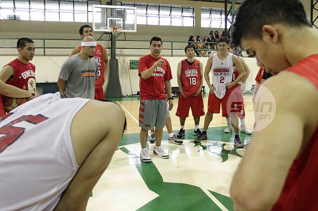Tough balancing act as Ato Agustin looks to keep Ginebra sharp and refreshed during break
