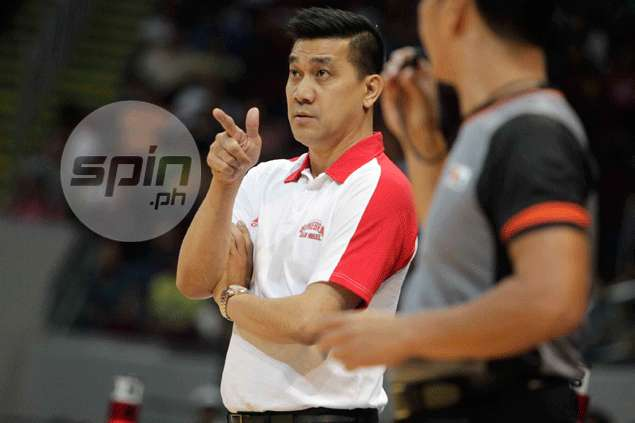 Ginebra coach Ato Agustin left to rue 'inconsistent' officiating in loss to Talk 'N Text