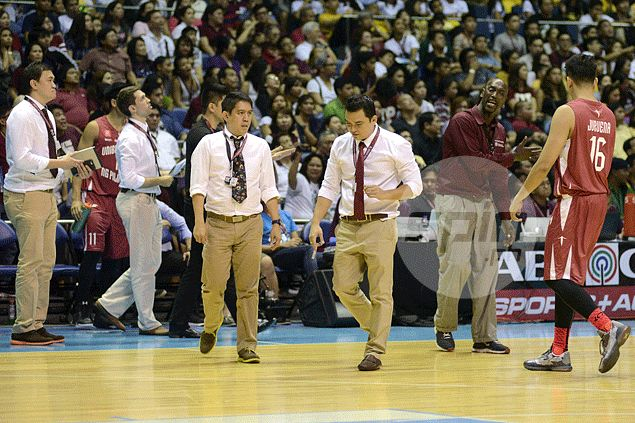 UP coaching staff brings professional feel to the team behind its sleek, corporate attire