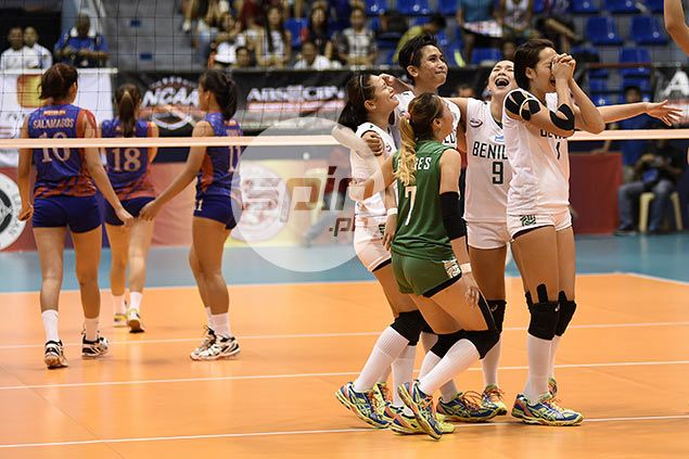Benilde Lady Blazers dispatch Arellano, earn shot at San Sebastian in NCAA volleyball finals