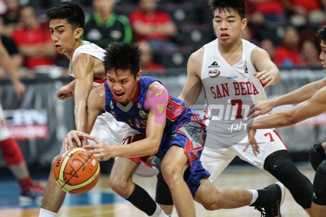 San Beda Red Cubs a win away from seventh successive NCAA juniors crown