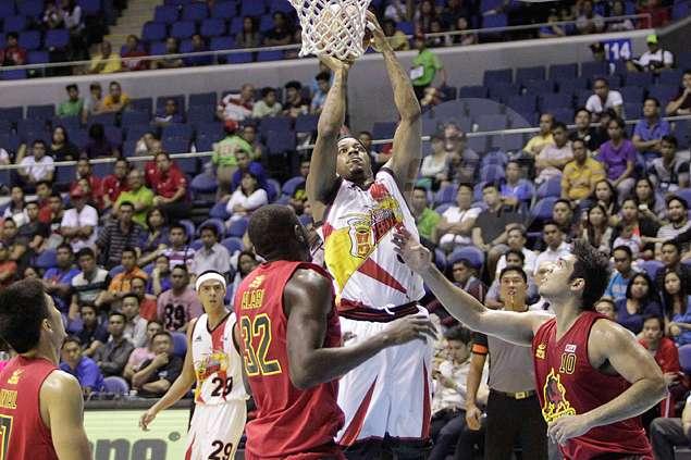 San Miguel Beer revives PBA playoff hopes by taming dangerous Barako Bull