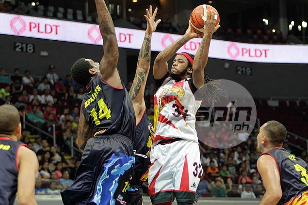 San Miguel ends dry spell as AZ Reid once again haunts former team Rain or Shine