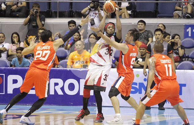 Bolts zap power out of Beermen to forge sudden-death in quarterfinal match up