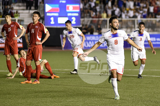 Azkals reach best-ever world ranking at 116th after historic win over North Korea