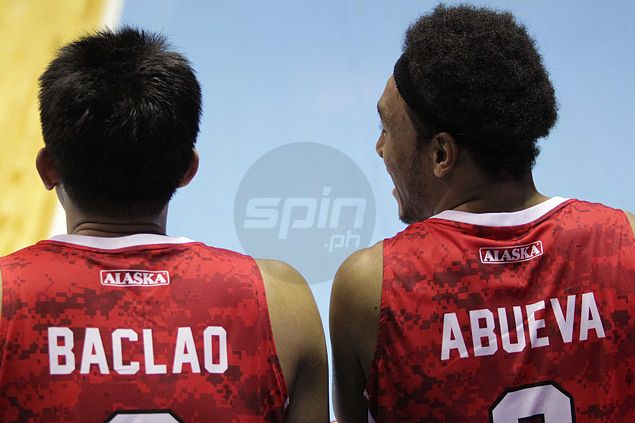 Foul-plagued Abueva didn't mind sitting out as Alaska sub Noy Baclao fills void