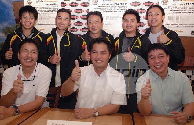 Top Filipino badminton players get back in swing in Bingo Bonanza National Open