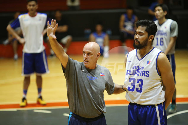 Grieving Tab Baldwin will miss Gilas practice, but is expected back this week