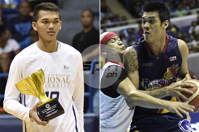 Similarities striking as Justine Baltazar tries to emulate idol Raymond Almazan