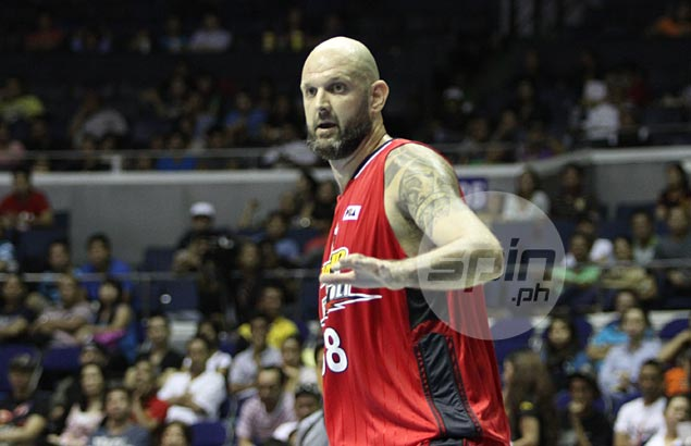 Purefoods recruit Mick Pennisi ready for 'baptism of fire' in game against former team Barako