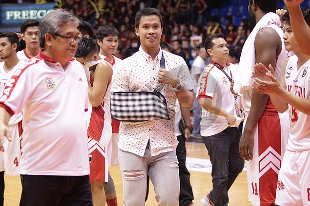 San Beda star Baser Amer insists shoulder injury not an issue as he declares for PBA draft