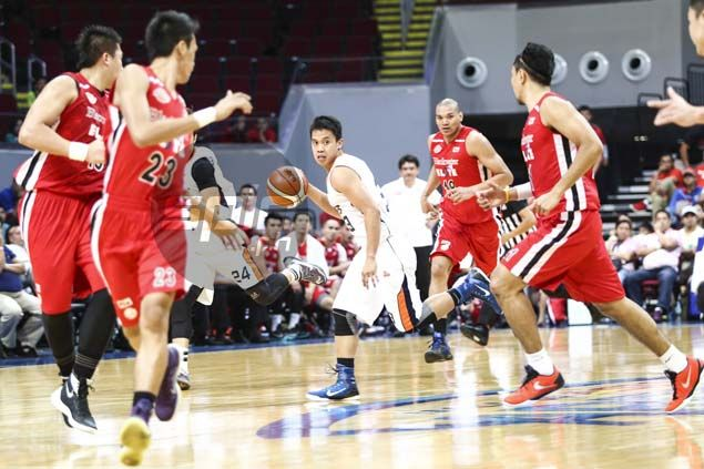 Black still sees Baser Amer as Meralco's point guard of the future despite inauspicious debut