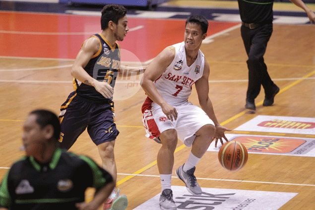 Baser Amer back in harness as San Beda ace point guard now 90 percent healed from injury