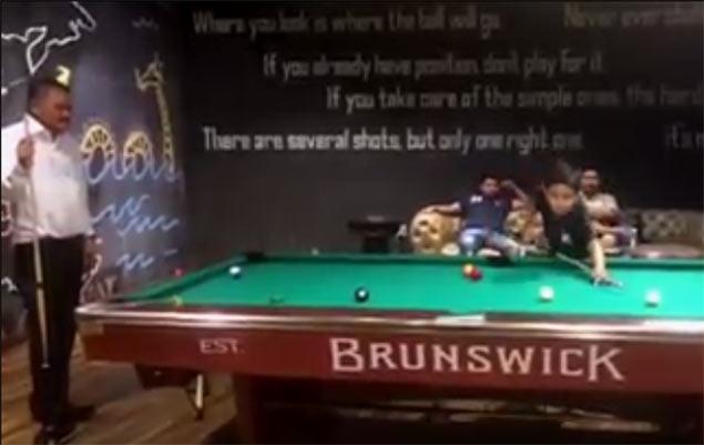 Bata beats 'Bata' Reyes: Video of 11 year old winning rack against billiards legend goes viral