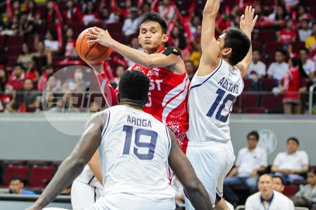 Defense is name of game as UE Red Warriors bring down title-holders NU Bulldogs