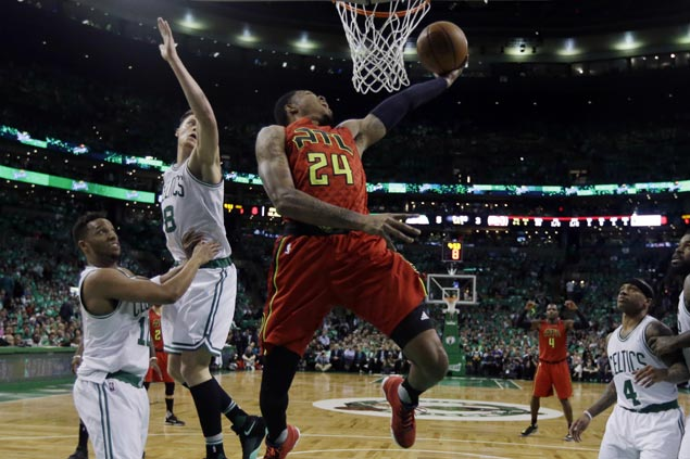 Hawks fend off Celtics late rally to book East semis date with Cavaliers