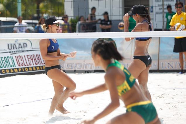 Adamson stays perfect, Valdez-led Ateneo grabs win No. 2 in UAAP beach volleyball
