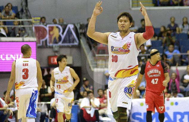 'Typhoon Beau' wreaks havoc on Ginebra, hits stride from inside and out