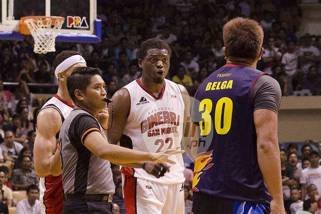 Beau Belga doesn't mind playing villain to Ginebra: 'Mas maraming iiyak, yan ang gusto ko'