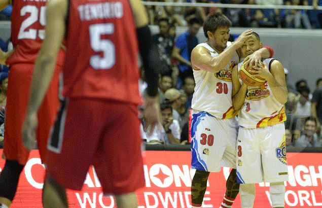 Hot-shooting Rain or Shine secures outright semifinal place after holding off Ginebra fightback