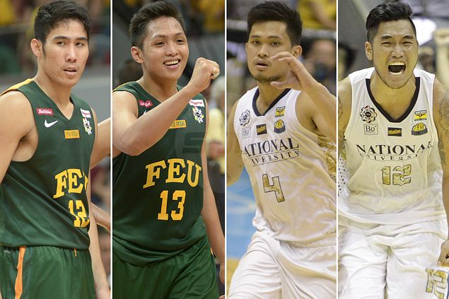 UAAP Finals foes turn teammates as NU's Alolino, Khobuntin join Belo, Tolomia in PBA D-League