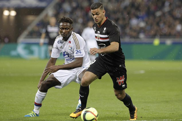 Barcelona target and Nice star Ben Arfa left out of France's lineup for Euro 2016