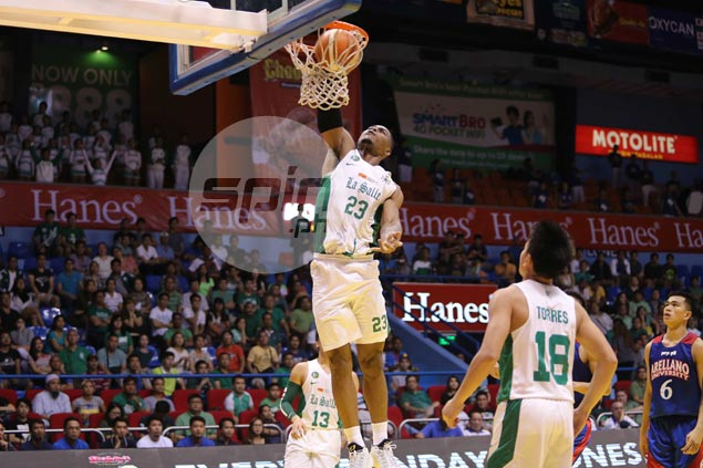 Ben Mbala ready to take on PBA bigs when La Salle meets pros in tune-ups, says coach Ayo