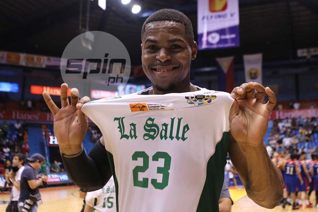 Ben Mbala's dogged determination, new-found maturity earn praise from La Salle coach