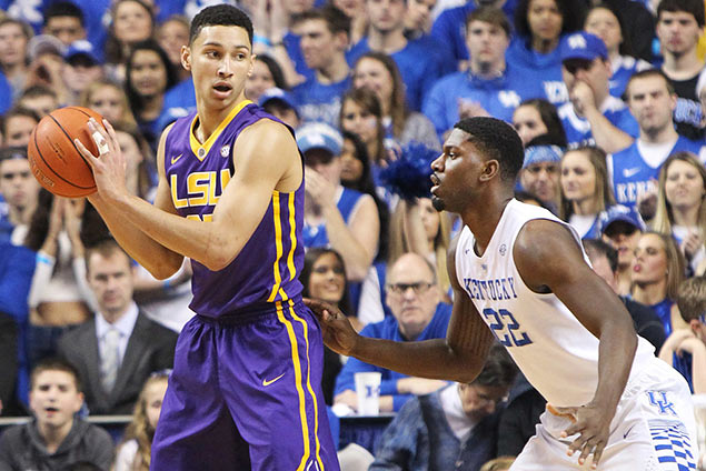 Aussie Ben Simmons leads international players tipped to go in first round of NBA Draft