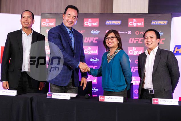 Expect another UFC fight card in Manila in 2016, assures top official