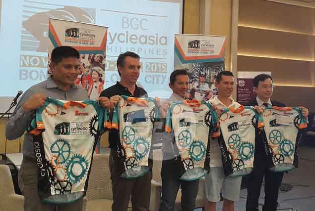 BGC turns into a bikers' paradise for one weekend during CycleAsia Philippines 2015