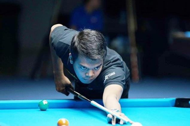Carlo Biado is last man standing for Philippines in World 9-ball as he enters Round of 16