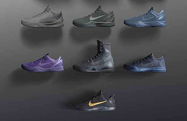 Nike sends off Kobe Bryant with limited edition Black Mamba retro pack
