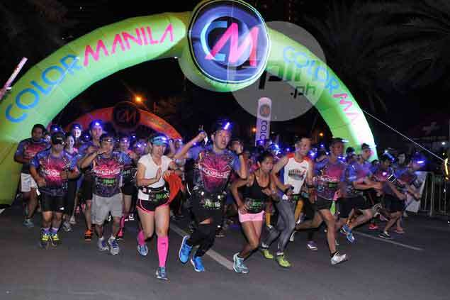 Brother Philippines brightens up Filinvest streets with fun-filled Blacklight run