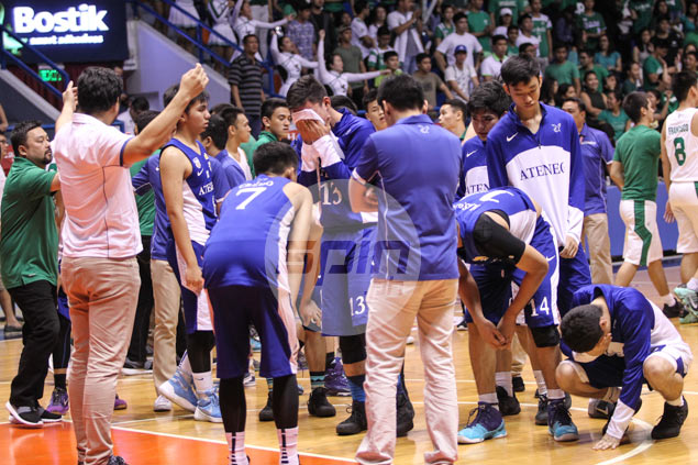 Ateneo junior stars Mendoza, Mamuyac too distraught to think about future after season ends at hands of La Salle