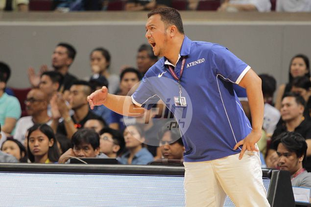Ateneo team manager denies talk of any coaching changes: 'Nothing official'