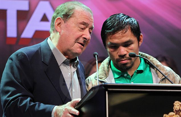 Believing Manny Pacquiao still wants to fight, Bob Arum reserves Mandalay Bay for October event