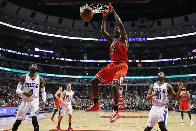 Bulls erase early 24-point deficit against Sixers to end disappointing season on a high note