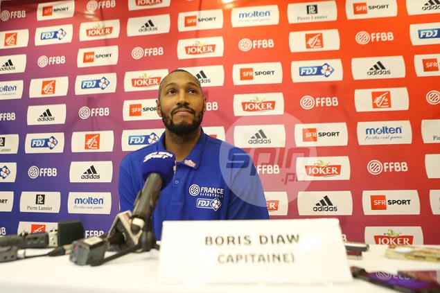 France captain Boris Diaw knows Gilas well enough to expect tough game in OQT face-off