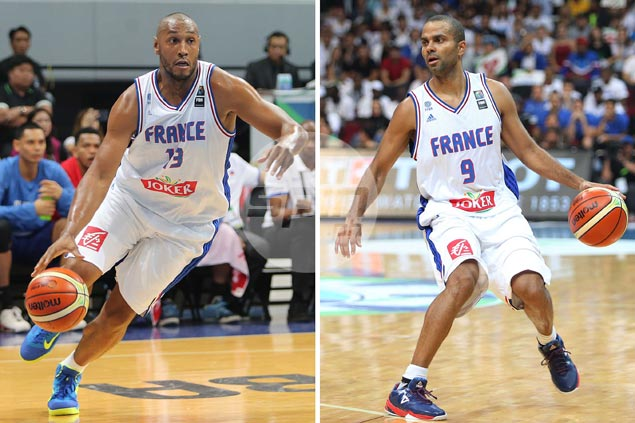 French teammates Parker, Diaw tight-lipped after trade breaks up partnership with Spurs
